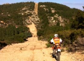 Enduro Sardegna - Monte Olia e Alà dei Sardi