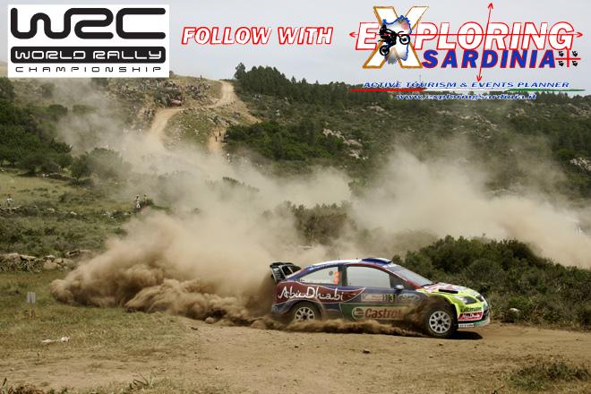 segui il World Rally Championship con Exploring Sardinia